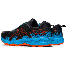 asics Fuji Trabuco Lyte Shoes Men black/digital aqua